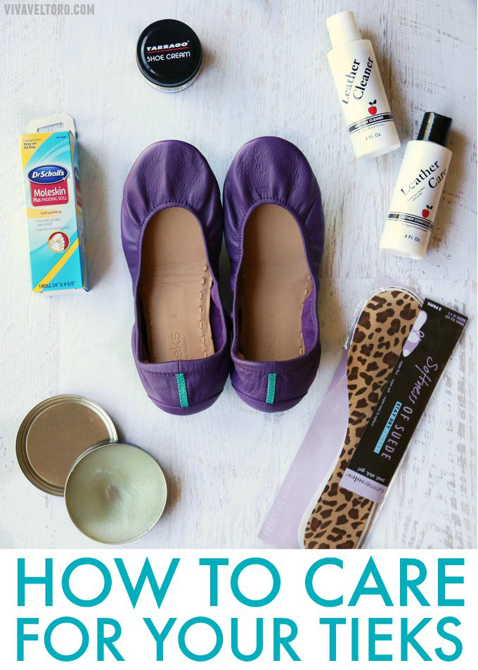 How To Polish Your Tieks Leather Ballet Flats - Color Matches and More! -  Viva Veltoro