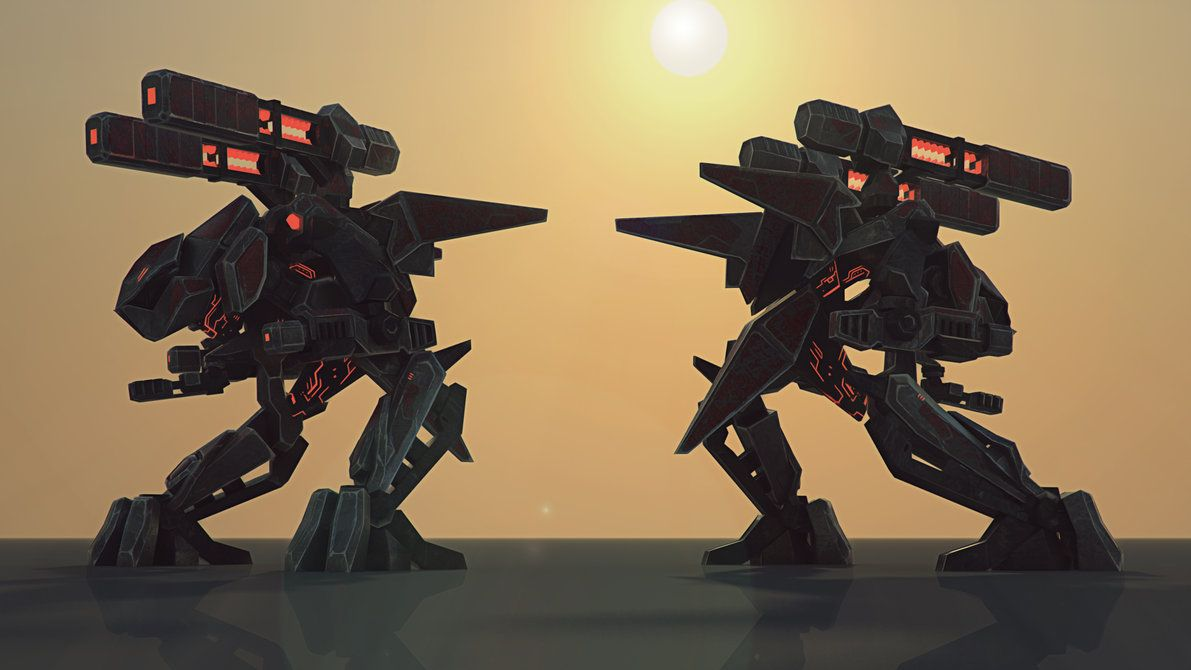 Cybran Bipedial Xp Wallpaper Wallpaper Big Robots Deviantart