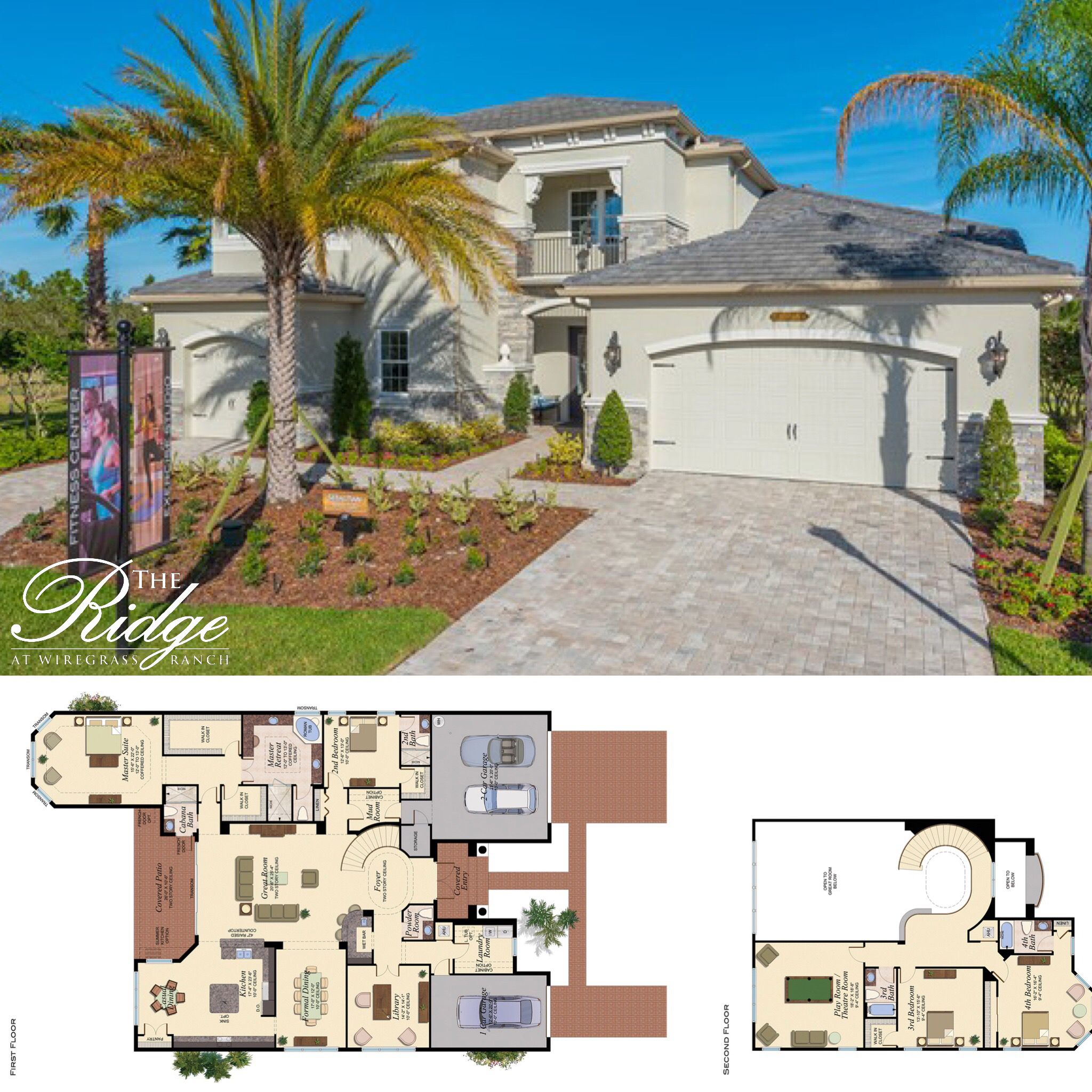Isn T This Home Perfect For A Big Family The Sebastian Model Has It All Check Out Www Glhomes Com And Learn Mansions Homes Florida Real Estate House Plans