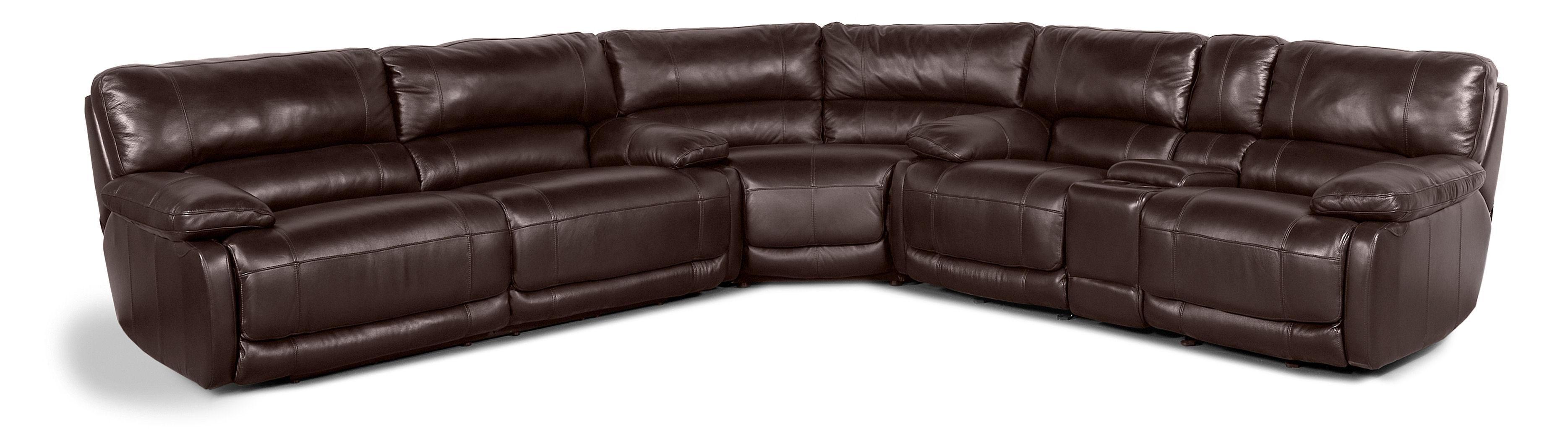 Living Room Flexsteel Latitudes Breakthrough 6 Piece Chaise