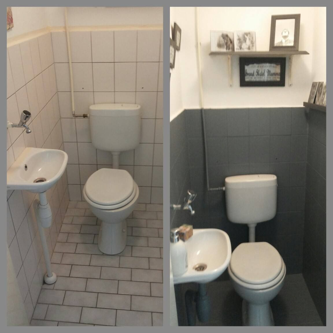 toilet opknappen met krijtverg/ chalk paint - home sweet home ...