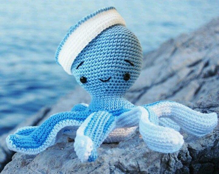 🐙 ¿Quieres comprar un pulpito amigurmi de crochet y no sabes dónde? | 573x720