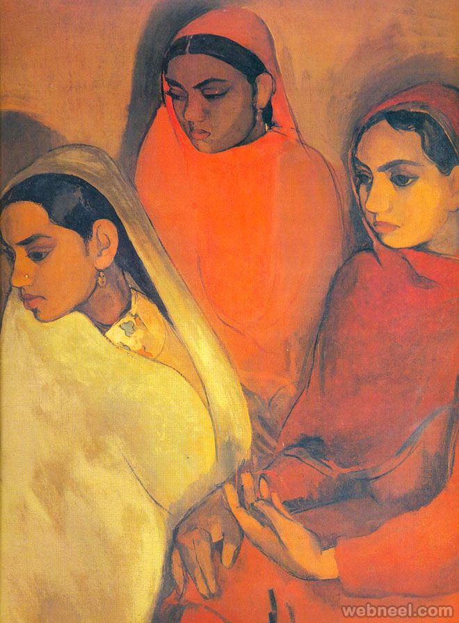 20 Famous Paintings and Old Artworks of Indian Painter