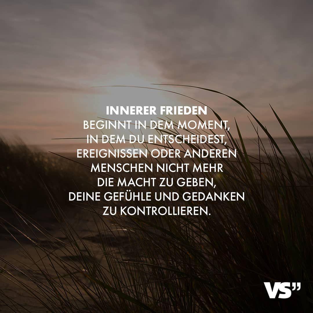 """VISUAL STATEMENTS® on Instagram: """"🙌 #VisualStatements #Lebensweisheiten #SprüchezumNachdenken #Weisheiten #Lebensmotto #InnererFrieden #Stärke"""""""
