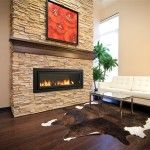 This is a beautiful fireplace. I really like the stone that is surrounding it. It gives the fireplace a very grand look.  Walter Kowalski | http://www.bcfireplaceservice.com