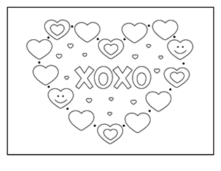 valentine coloring pages, valentine coloring sheets, valentine ...