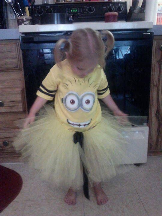 MINIONS Minion Despicable Me costume kids girls Halloween tutu - halloween tutu ideas