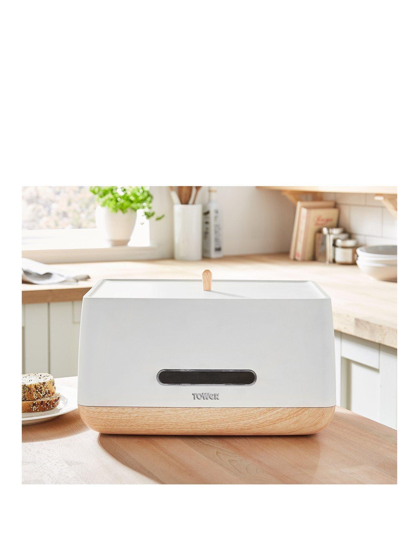 Scandi Bread Bin White Bread Bin Scandinavian Design Safe Storage