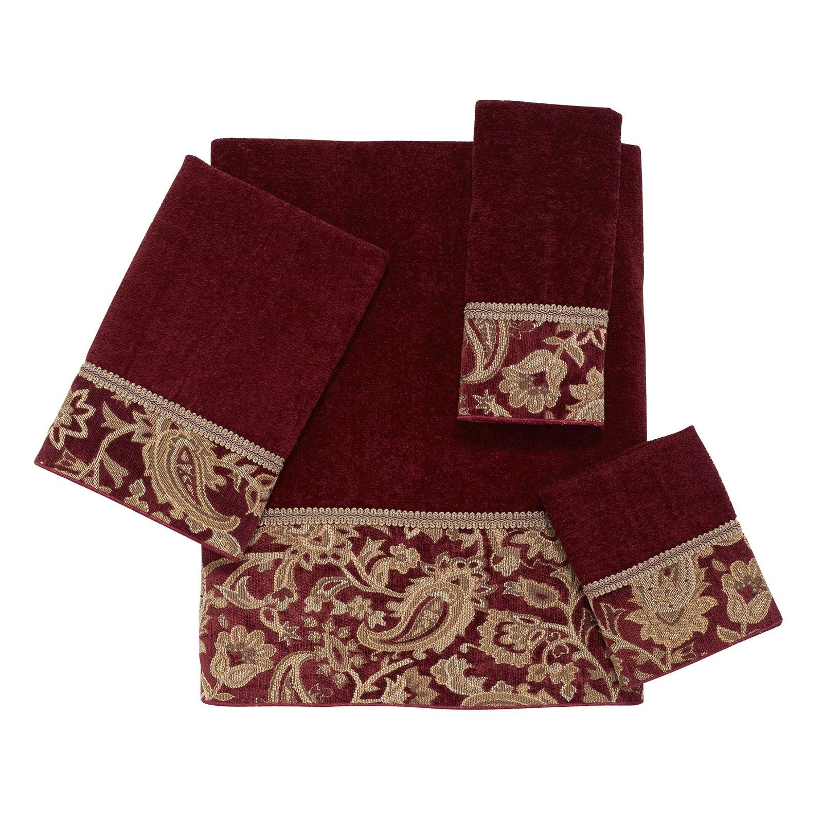 Avanti Bath Towel Sets Bathroom Ideas Pinterest - Maroon bath towels for small bathroom ideas