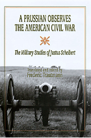 Justus Scheibert, an officer in the Royal Prussian Engineers, was sent to the United States for seven months to observe the Civil War and report the effects of artillery on fortifications. Sheibert's narrative portrays soldiers, weaponry, and battles, including the first, and one of the few, studies of combined operations in the Civil War.
