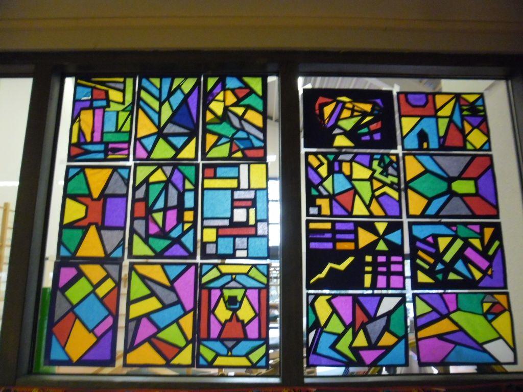 Glas In Lood Decoratie