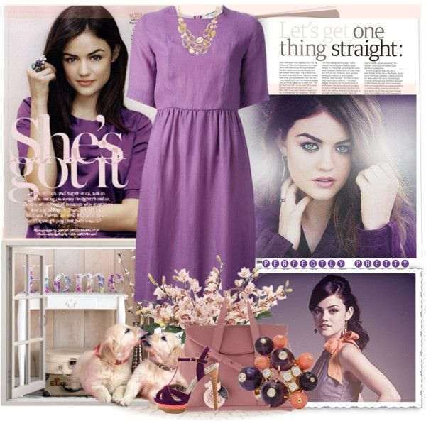 """Lucy Hale"" by myfavourites on Polyvore"