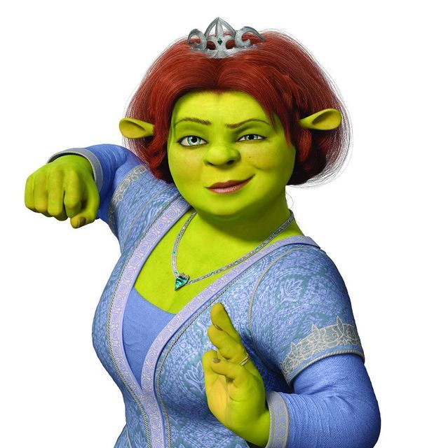 Fiona Shrek, Disney Cartoons