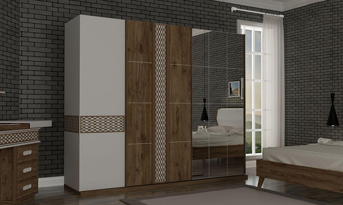 Lema Yatak Odasi Takimi Beyaz Wardrobes In 2019 Bedroom