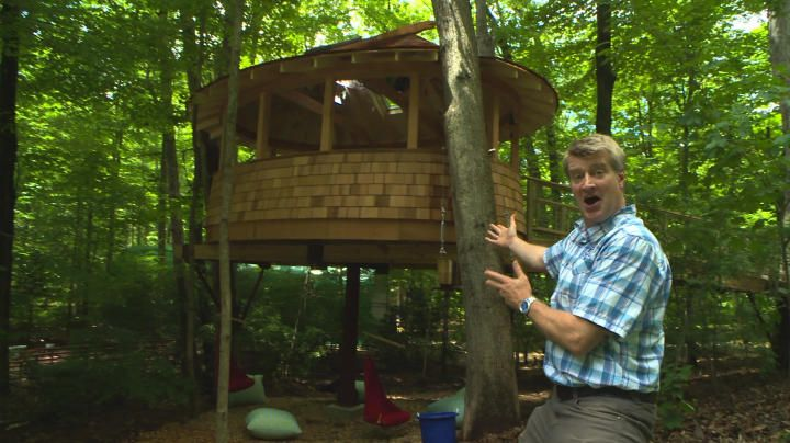 Treehouse Masters Animal Planet Bill Nelson With The Special
