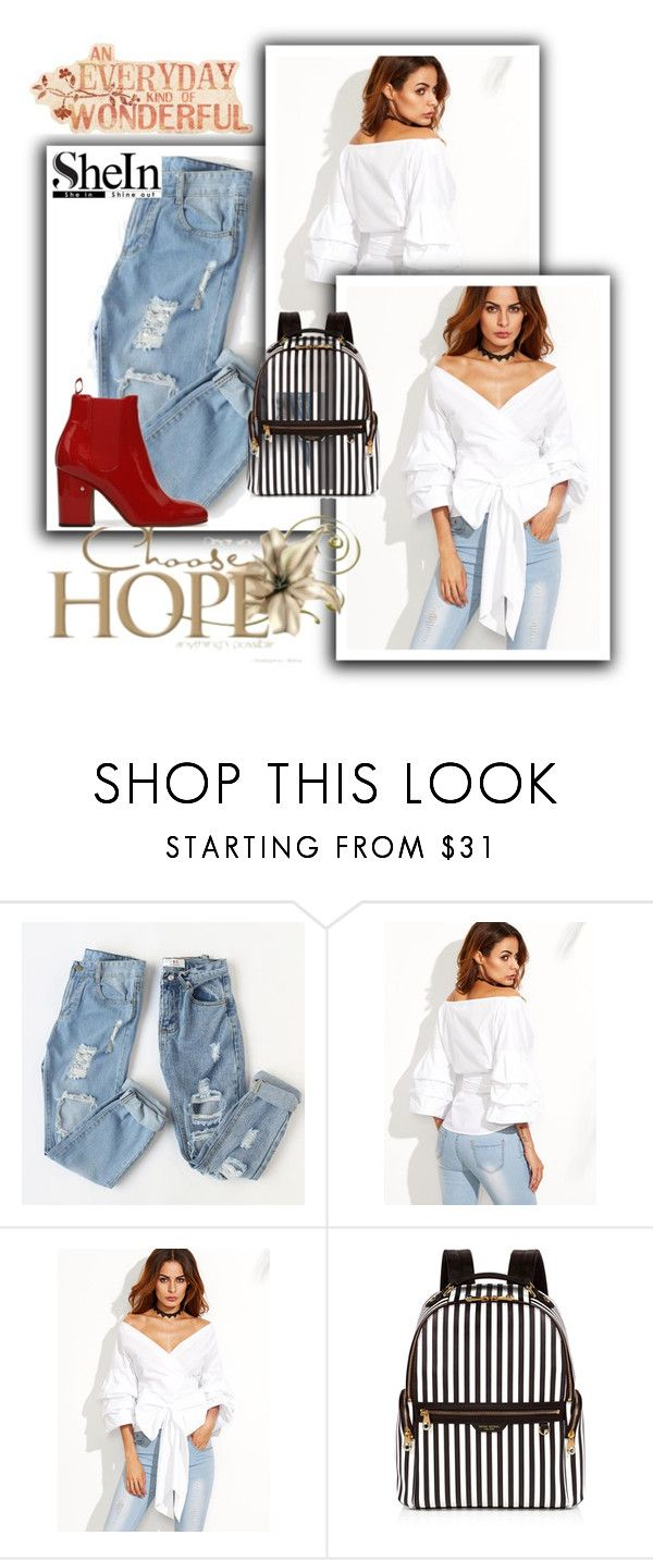 """""""top"""" by ludicaa678 ❤ liked on Polyvore featuring WithChic and Henri Bendel"""