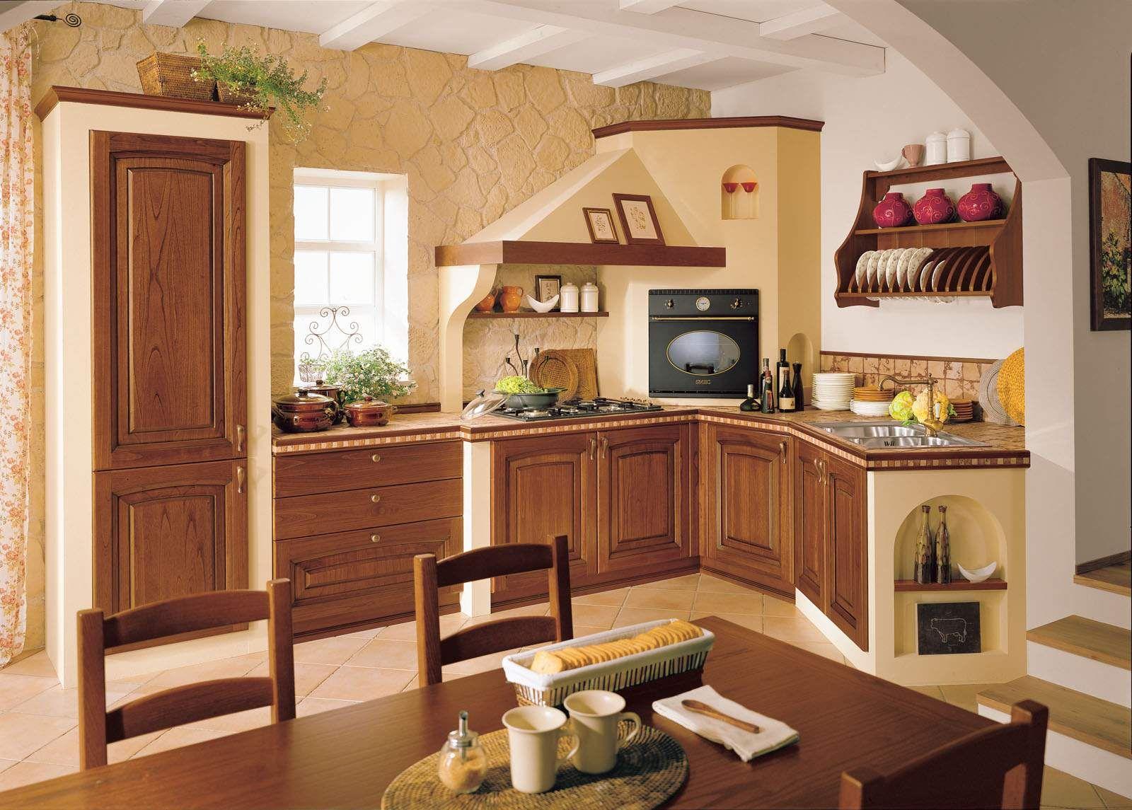 Forno Cucina In Muratura cucine in muratura • 70 idee per progettare una cucina