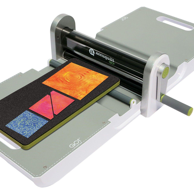 Go Fabric Cutter Starter Set Quilting Die Cutter Fabric Cutter Accuquilt Quilters Fabric