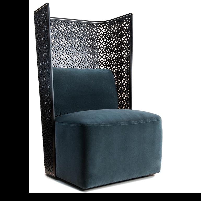 Cool Furniture Cheap: High Back Mashrabiya Chair – SACD