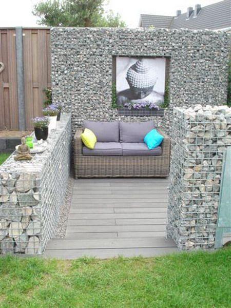 Gabion Retaining Wall Design : Custom Gabion Design on Pinterest  Gabion Wall, Gabion Retaining Wall ...