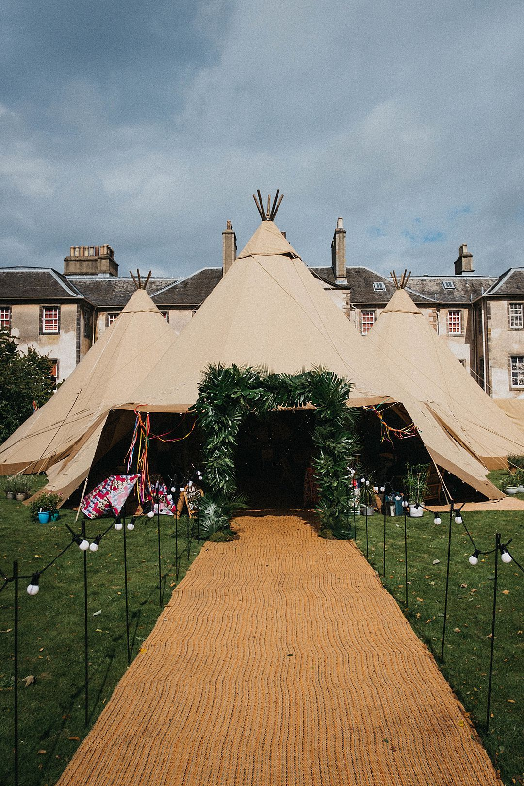 Wedding Tipi And Tent Supplier Timber Canvas Head To Scotland For