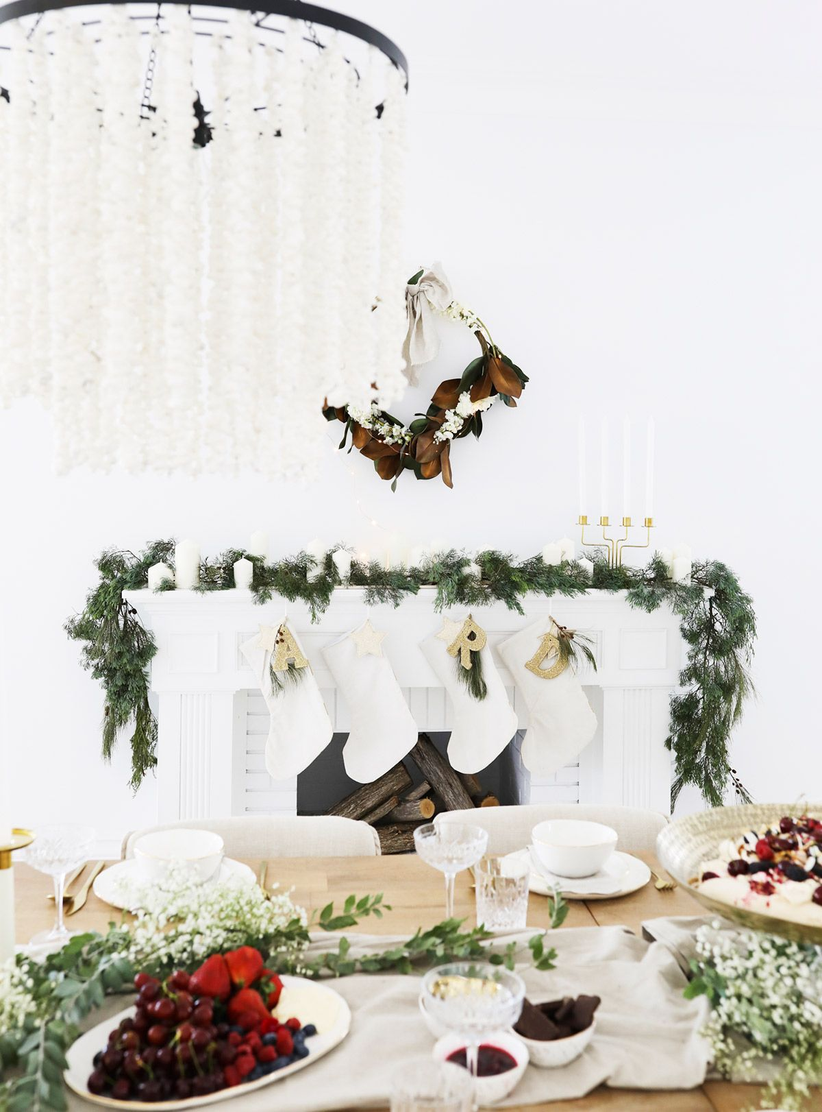 GET THE LOOK CHRISTMAS AT BONNIE'S Christmas table