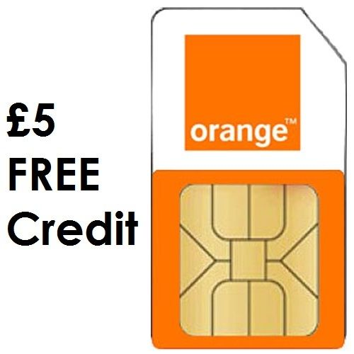 free orange sim pay as you go
