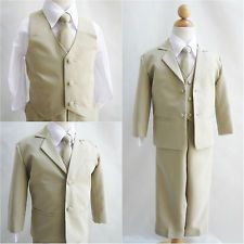ring bearer outfits vest ivory pink - Google Search