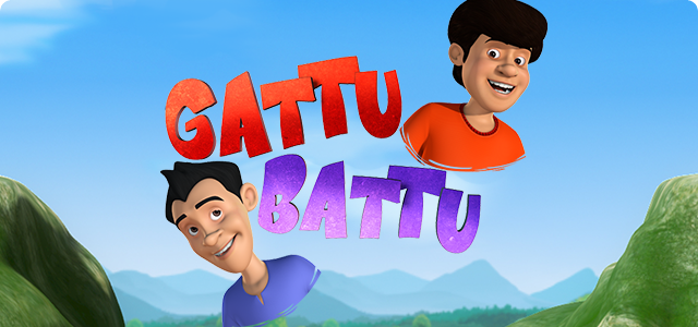 Watch an all new Nickelodeon show Gattu Battu shows and