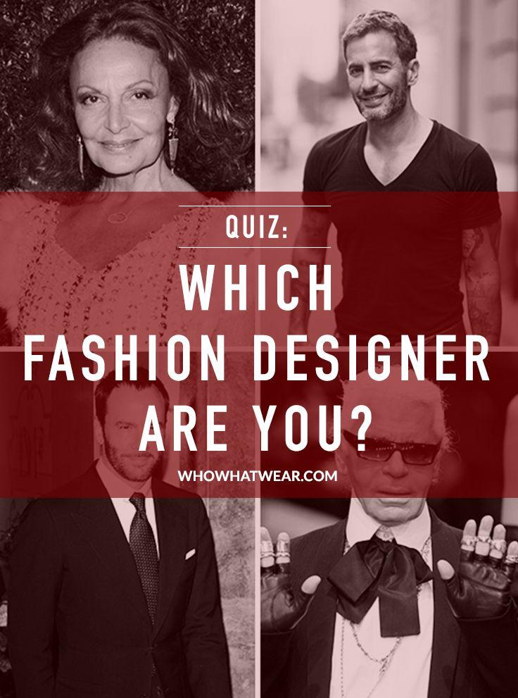 Quiz Which Fashion Designer Are You Fashion Design Fashion Design