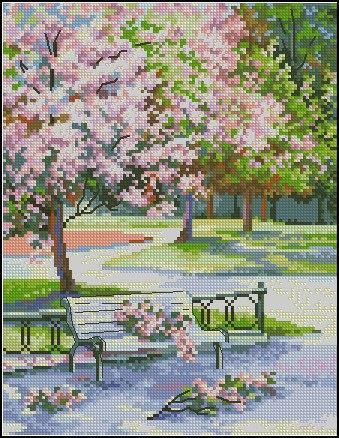 Spring in the park 1
