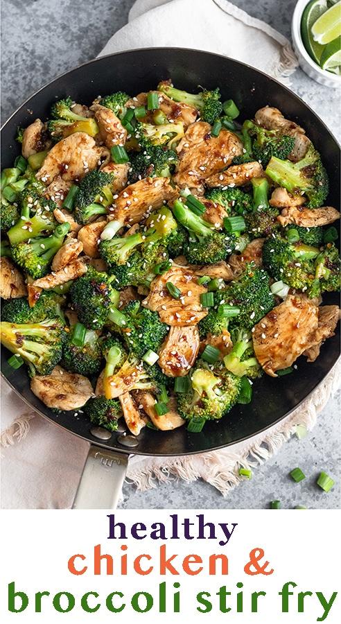 Chicken And Broccoli Stir Fry Recipe Stir Fry Recipes Healthy Broccoli Recipes Healthy Healthy Chicken Recipes