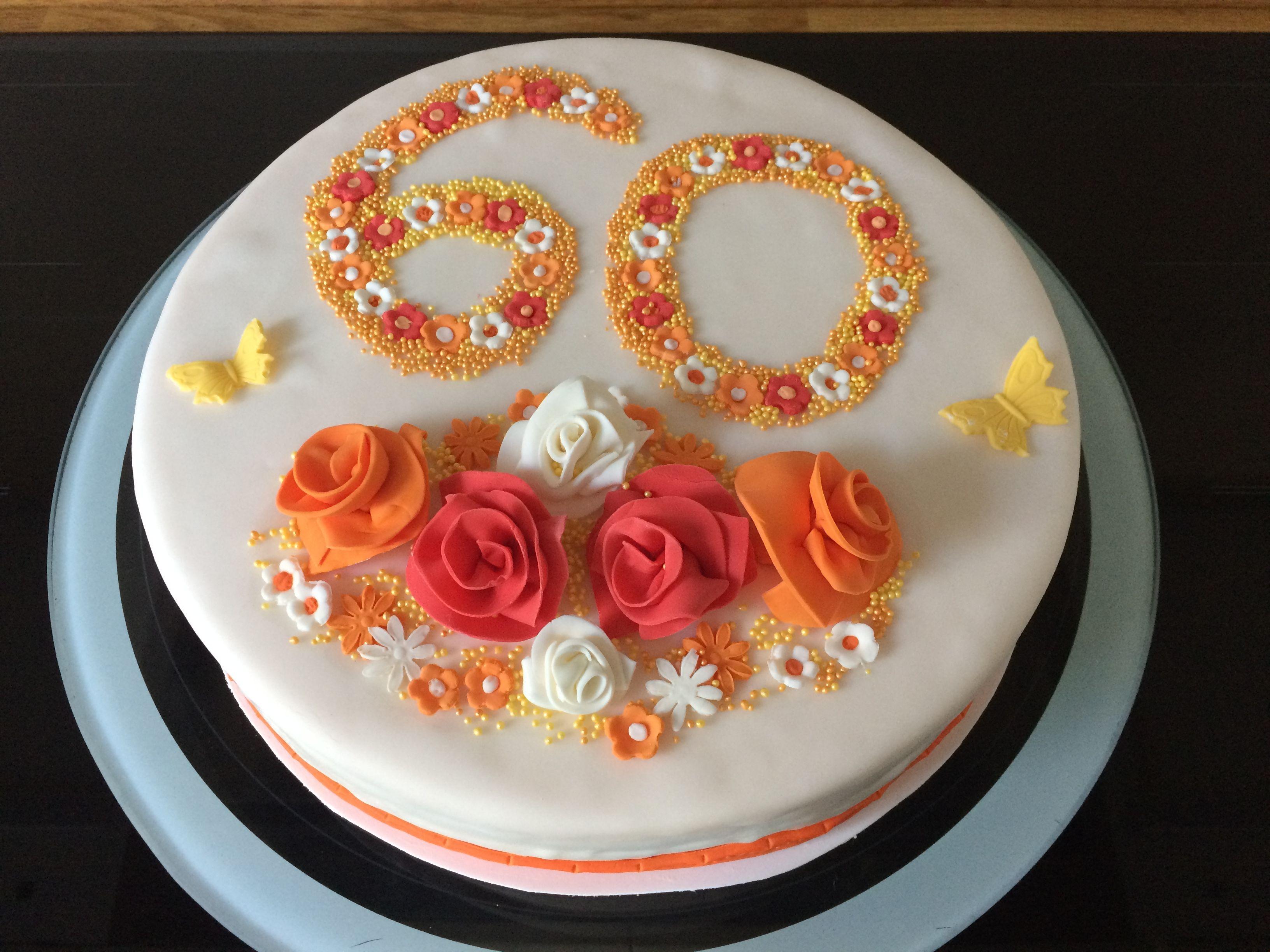 Torte 60 Geburtstag Mellis Torten