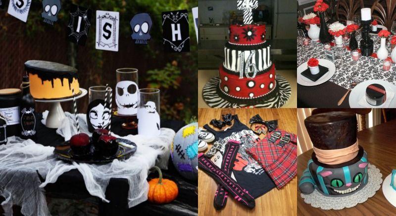 emo theme  | Bookeventz | #birthday #boys #girls #theme #star #party