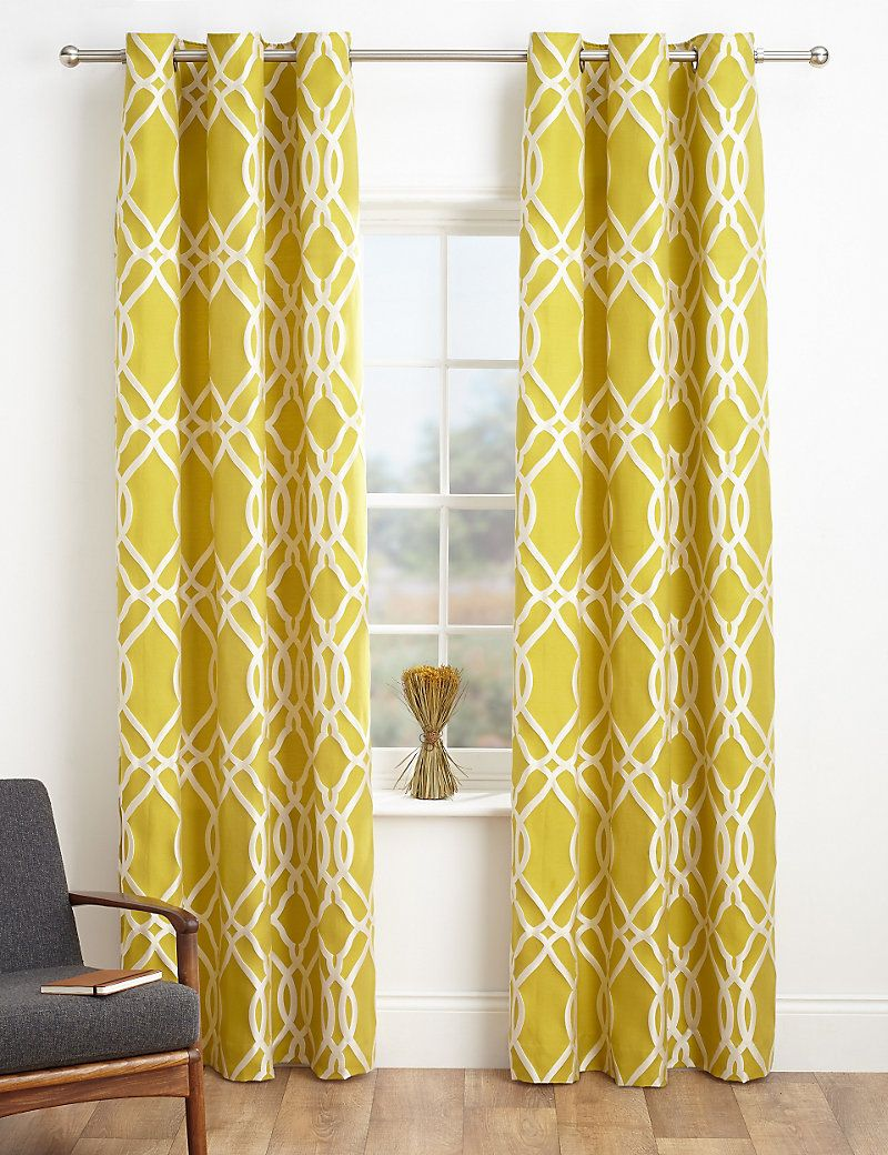 Windsor teal eyelet curtains harry corry limited - Geometric Print Curtains M S