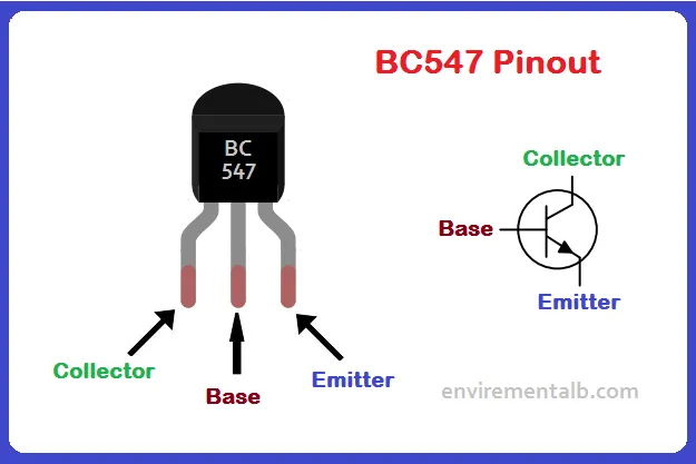 BC547 Transistor: Pinout, Equivalent, Features ...