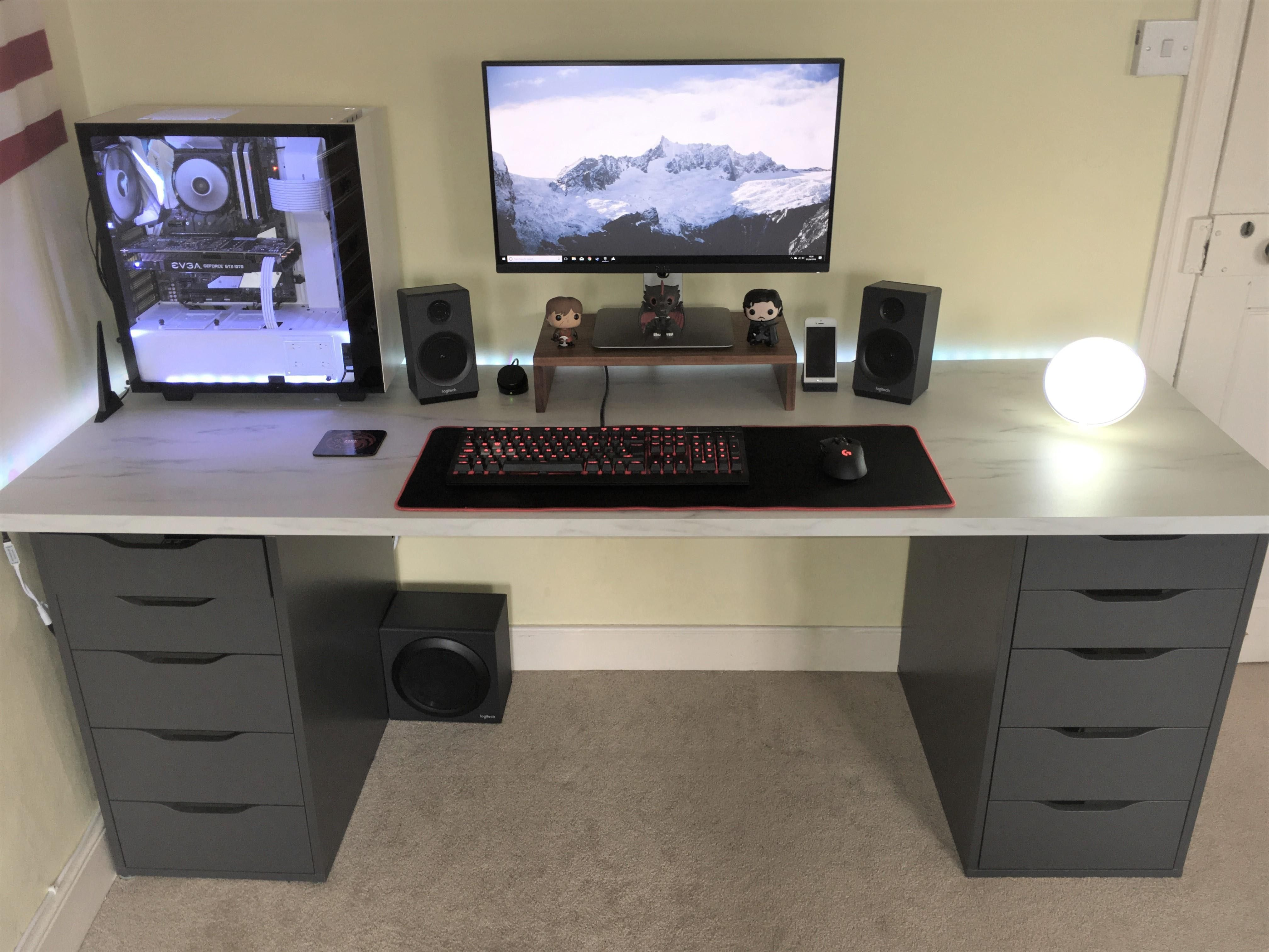 Different computer desk storage only on this page | Home office