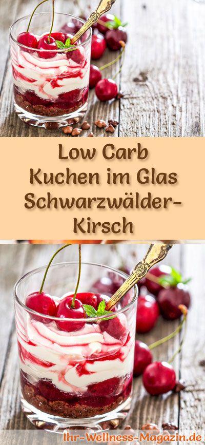 Low Carb Schwarzwälder-Kirsch im Glas - Dessert-Rezept ohne backen