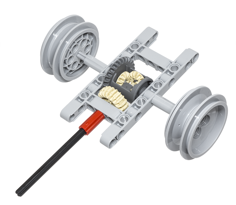 Lego Technic Building Tip Drive Shaft And Differential Lego