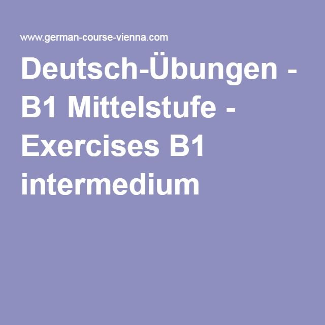 Briefe Schreiben Deutsch Als Fremdsprache übungen Für A2 Und B1 : Deutsch Übungen b mittelstufe exercises