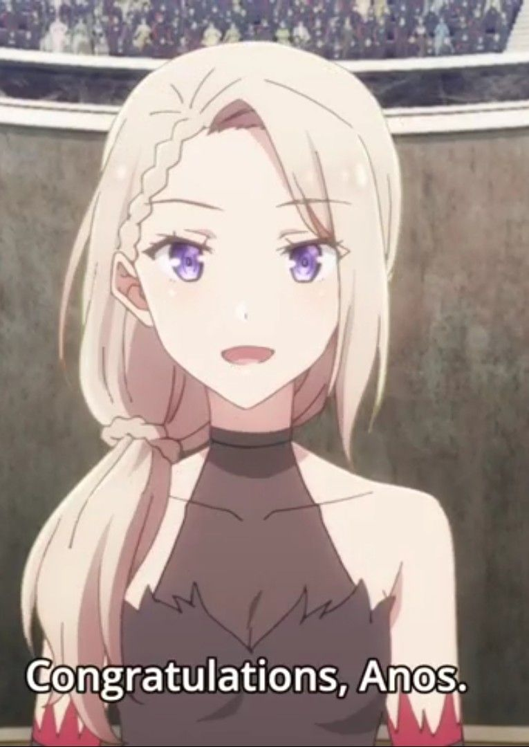 Sasha Necron From The Misfit Of Demon King Academy Demon King Anime Demon King Kawaii Anime