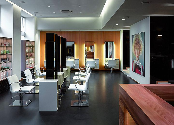 trendy salon designs