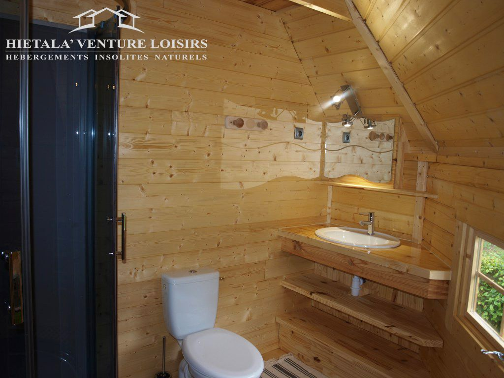 Meuble Salle De Bain Iea ~ Coin Salle De Bain Toilette Dans Un Kota Finlandais Version