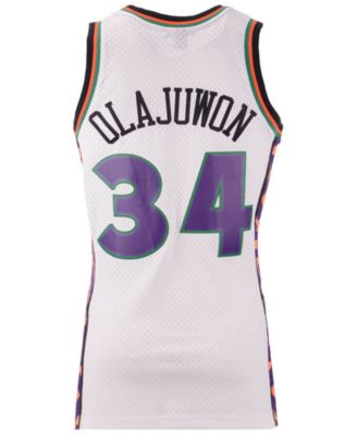 buy popular a7b1a 5ec24 Mitchell & Ness Men Hakeem Olajuwon Nba All Star 1995 ...