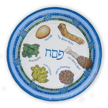 Amazon.com Paper plates for Passover Paper Seder Plates Passvoer plates for  sc 1 st  Pinterest & Amazon.com: Paper plates for Passover Paper Seder Plates Passvoer ...