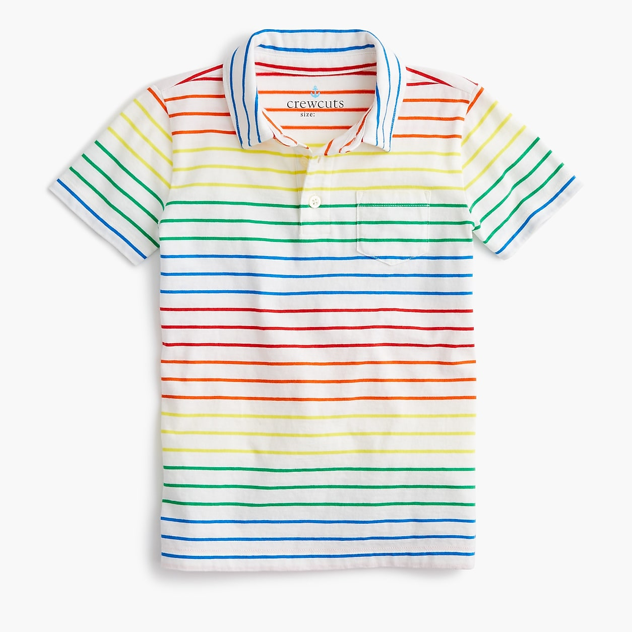 t-shirt short sleeve summer Mini Boden Boys vintage stripe slub cotton tees
