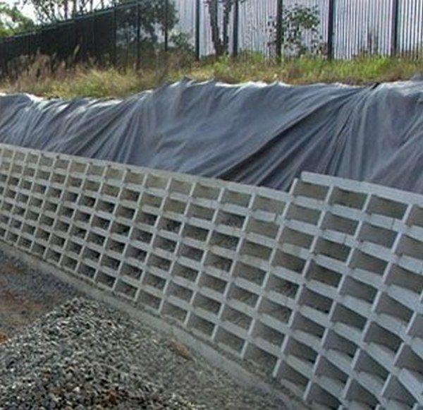 Concrete Crib Retaining Wall Cheap Retaining Wall Retaining Wall Inexpensive Retaining Wall Ideas