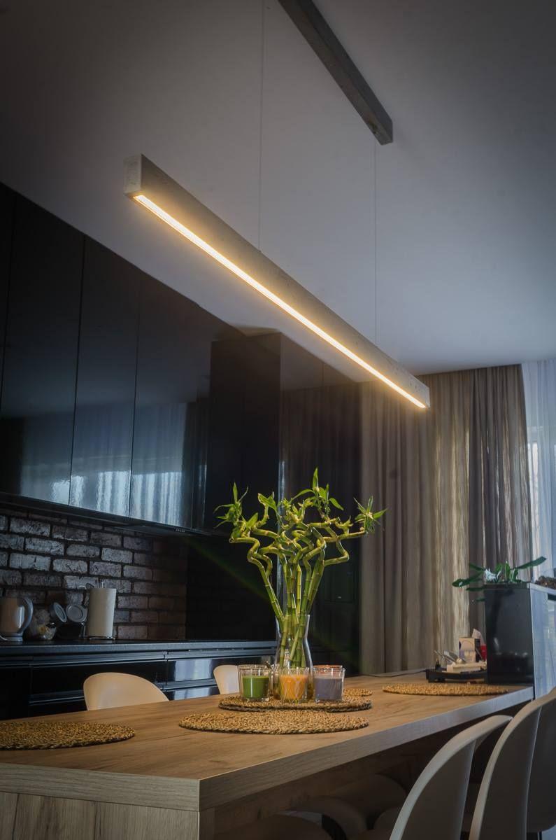 Beton Hangeleuchte Led Concrete Line Dslampen At Lampen Und Leuchten Online Hangeleuchte Esszimmer Lampe Modern Lampen Esszimmer