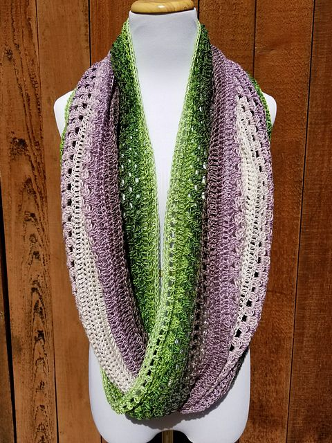 Giana Mobius Scarf Pattern By Silver Rose Studio Crochet