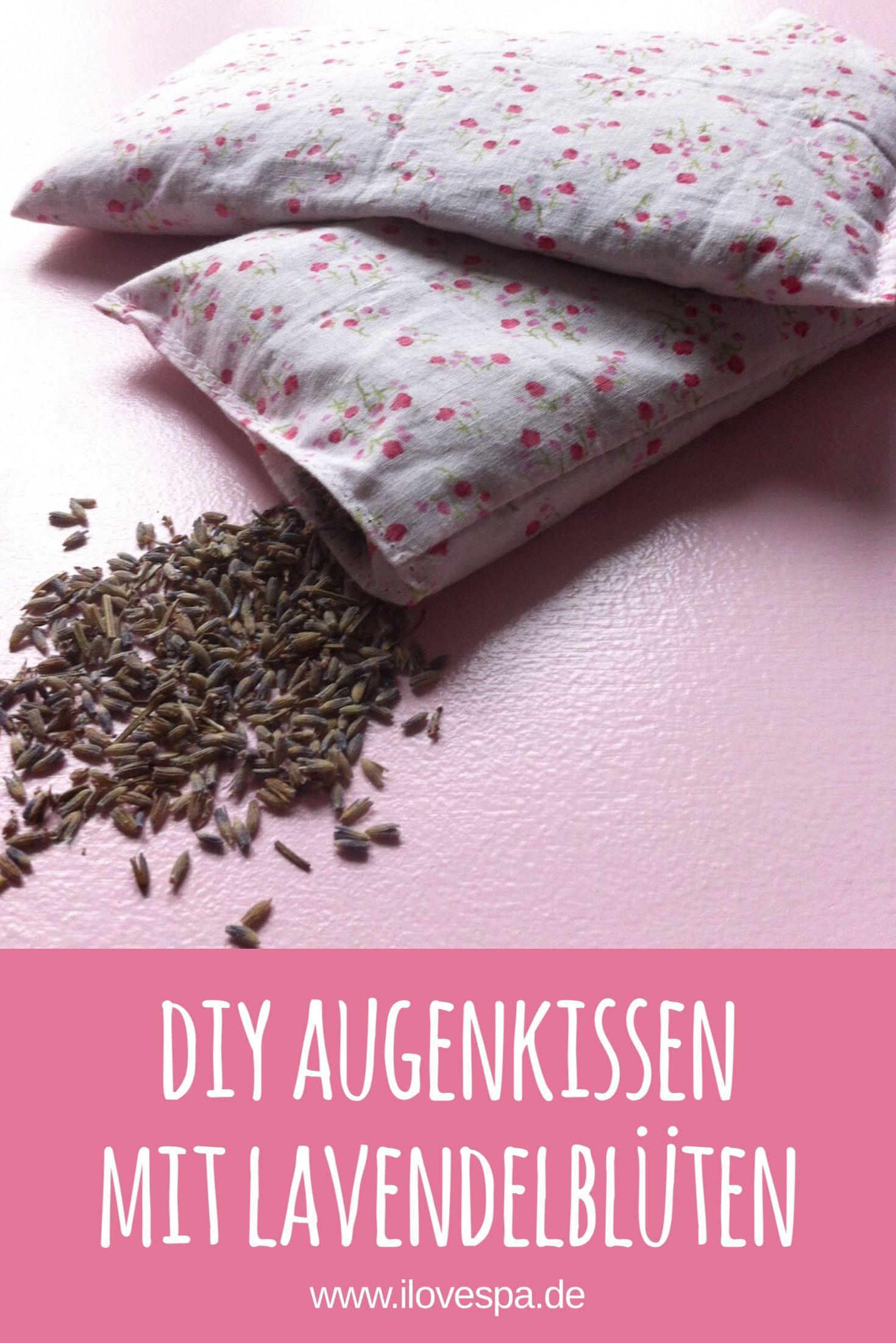 DIY Weihnachtsgeschenk: Savasana Lavendel Augenkissen   Spa and Yoga